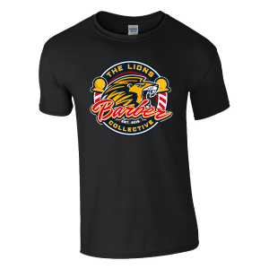 Lions Barber Collective T-Shirt – Black